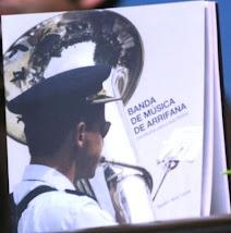 """Livro """"BANDA DE MÚSICA DE ARRIFANA - Contributos para a sua história"""""""