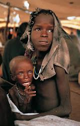 """En un mundo cruel, en el que nos ha tocado vivir;  """"los niños son los tristes protagonistas"""