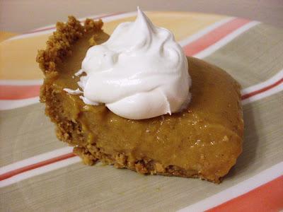 Delightful Dessert: pumpkin icebox pie