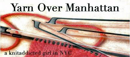 Yarn over Manhattan