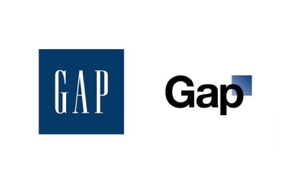 gap logo, katie company