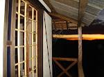 Casa material de demolição