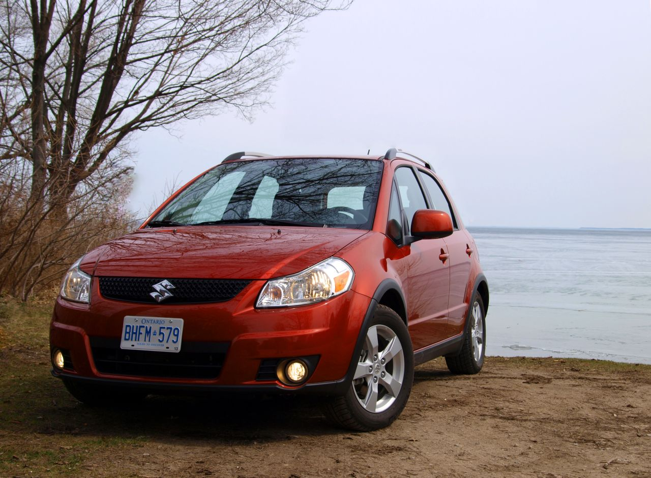 TheChork Reviews Cars  2010 Suzuki SX4 JLX AWD review