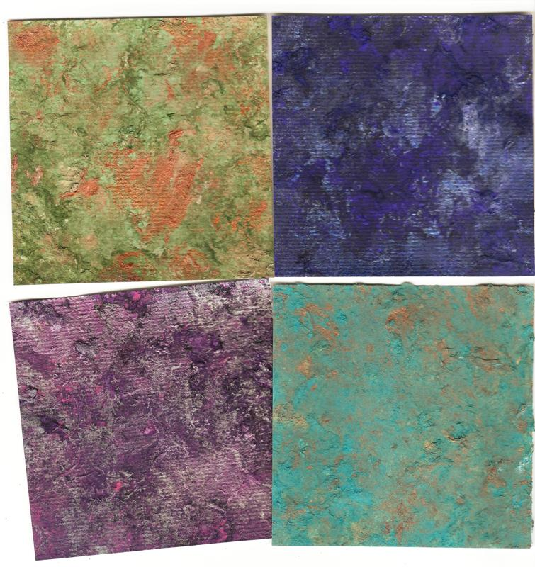 Creations from an enigmatic soul faux handmade paper for Handmade paper creations