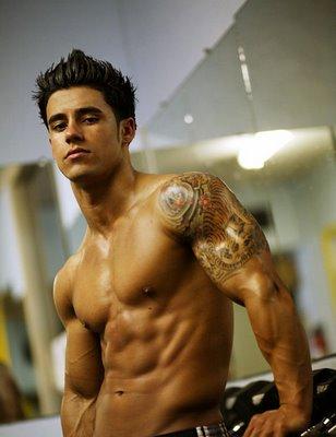 hot guy tattoos. star tattoos for guys. hot