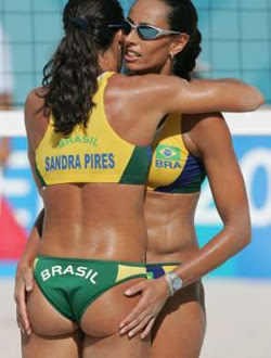 Brazilian beach volleyball