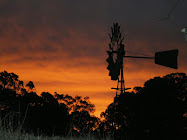 Our windmill at sunset