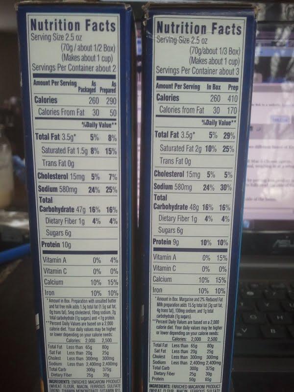 recipe: velveeta mac and cheese box nutrition [30]