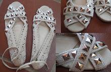 """Zapatos creados por el blog """"Living in a Heel """""""