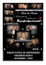 Jornal de Aniversário do Rick!!!!!