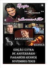 Jornal de Aniversário do Renner!!!!!