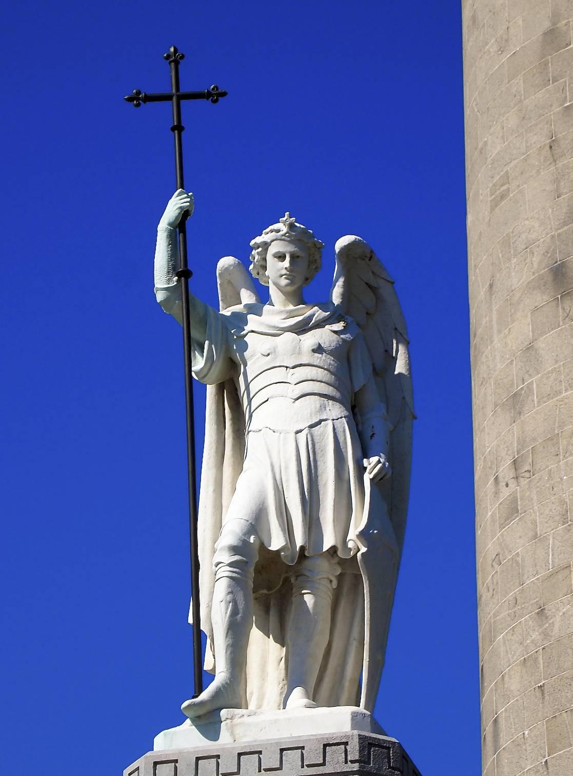Famous Archangel Michael Statue a Statue of Archangel Michael