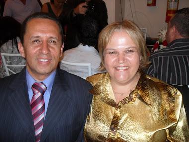 Pr.Presidente: Antonio Carlos Jovita e Miss.Silvana Célia Spioni Jovita
