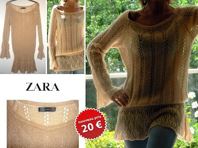vide dressing - Robe tunique ZARA