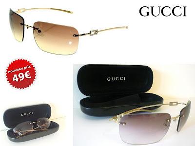 vide dressing lunettes Gucci