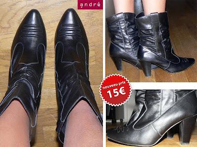 vide dressing - bottes noires ANDRE