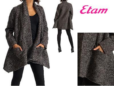 manteau gilet coco de ETAM