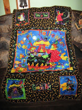 2nd Halloween wall quilt