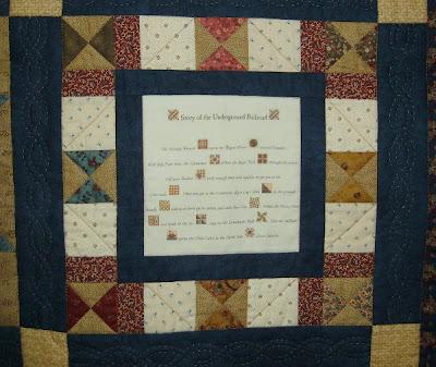 Quilt Patterns For Underground Railroad : Treadle Quilts: Large Underground Railroad Quilt