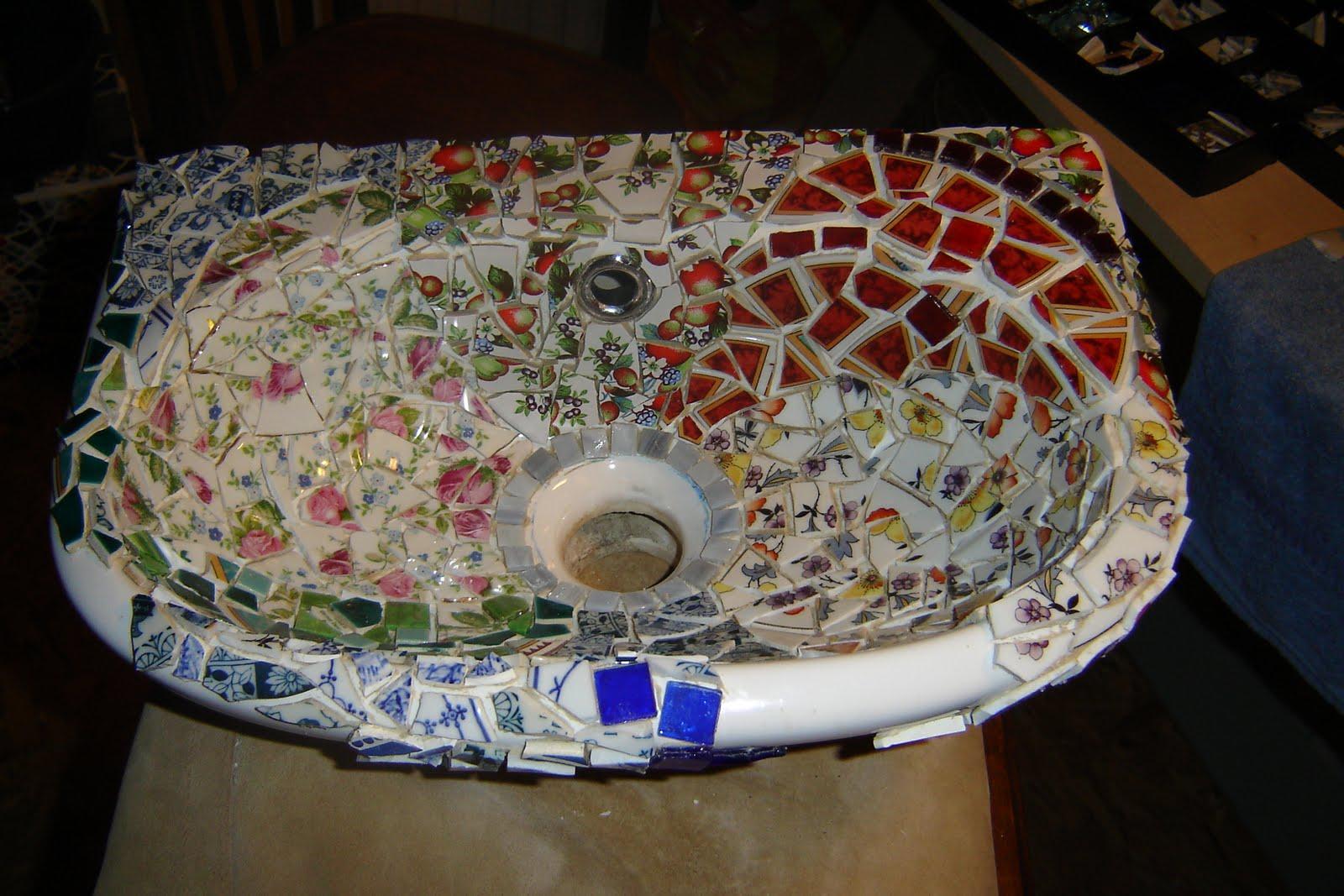 Portfolio cora clements mozaiek wc - Wc mozaiek ...
