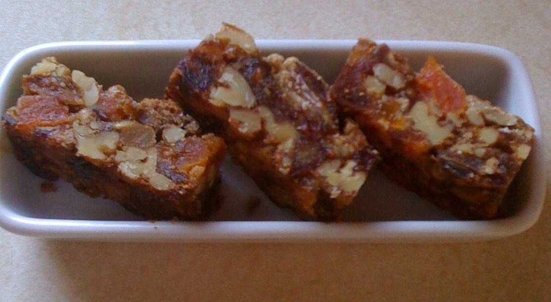 Fruitcake Bars   Figs and Honey