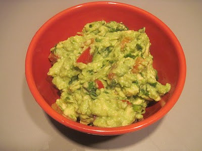 Guacamole is a dip with avicado,onion and tomato