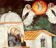 St Benedict&#39;s vision of the death of St Scholastica