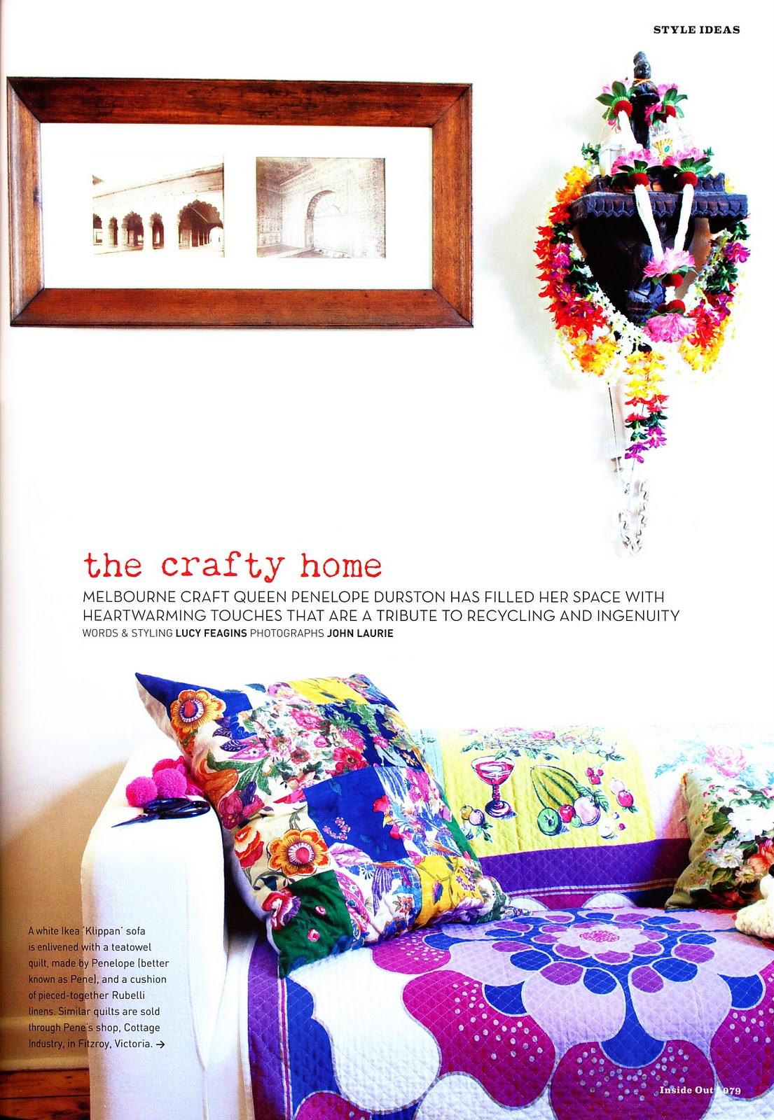 Ampersand Design Inside Out Magazine Nov Dec 10 Issue