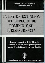LA LEY DE EXTINCIÓN DEL DERECHO DE DOMINIO