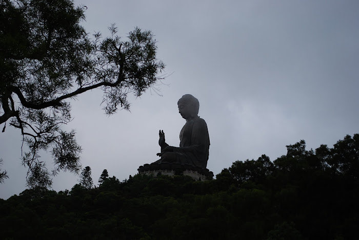 Buddha Watching Over...