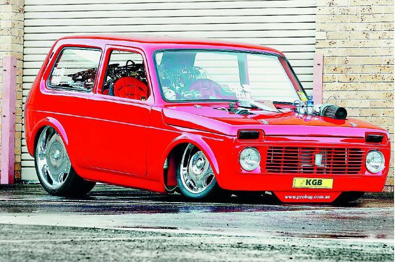 KGB 5.6 em V8, o Lada Niva