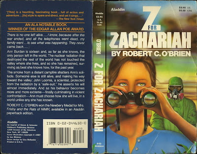 essays on z for zachariah Worse, z for zachariah is ultimately too dramatically slight and brief for its ambitions, despite its sometimes labored myth-making script and visuals.