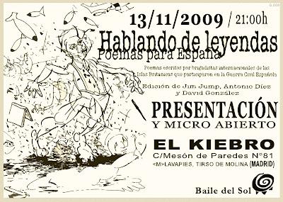 Hablando de Leyendas en Lavapiés - Noviembre 2009