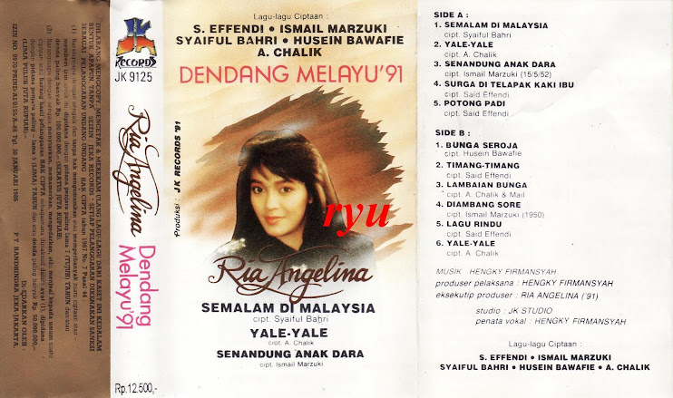 Ria angelina ( album dendang melayu 91 )