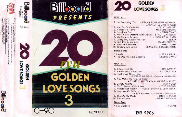 20 golden love song vol.3