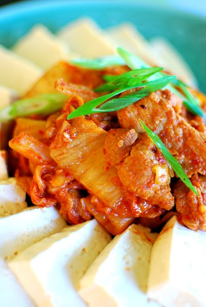 kimchi and pork belly tofu with kimchi and pork belly recipes dishmaps ...