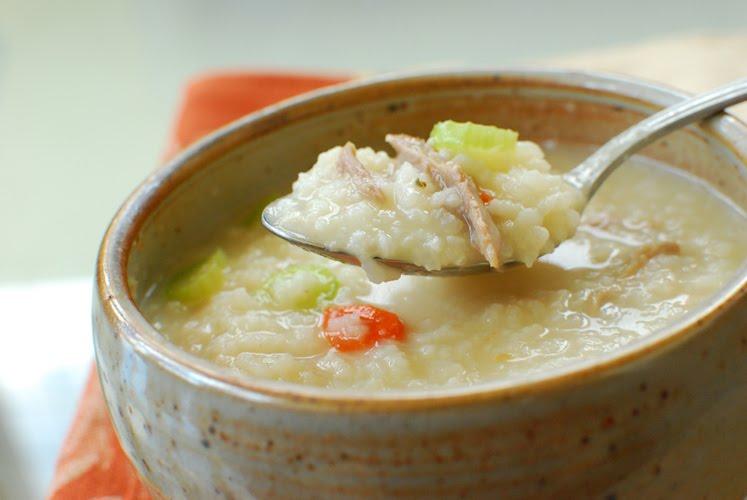Korean Bapsang: Porridge (Juk) with Leftover Turkeywww.koreanbapsang ...
