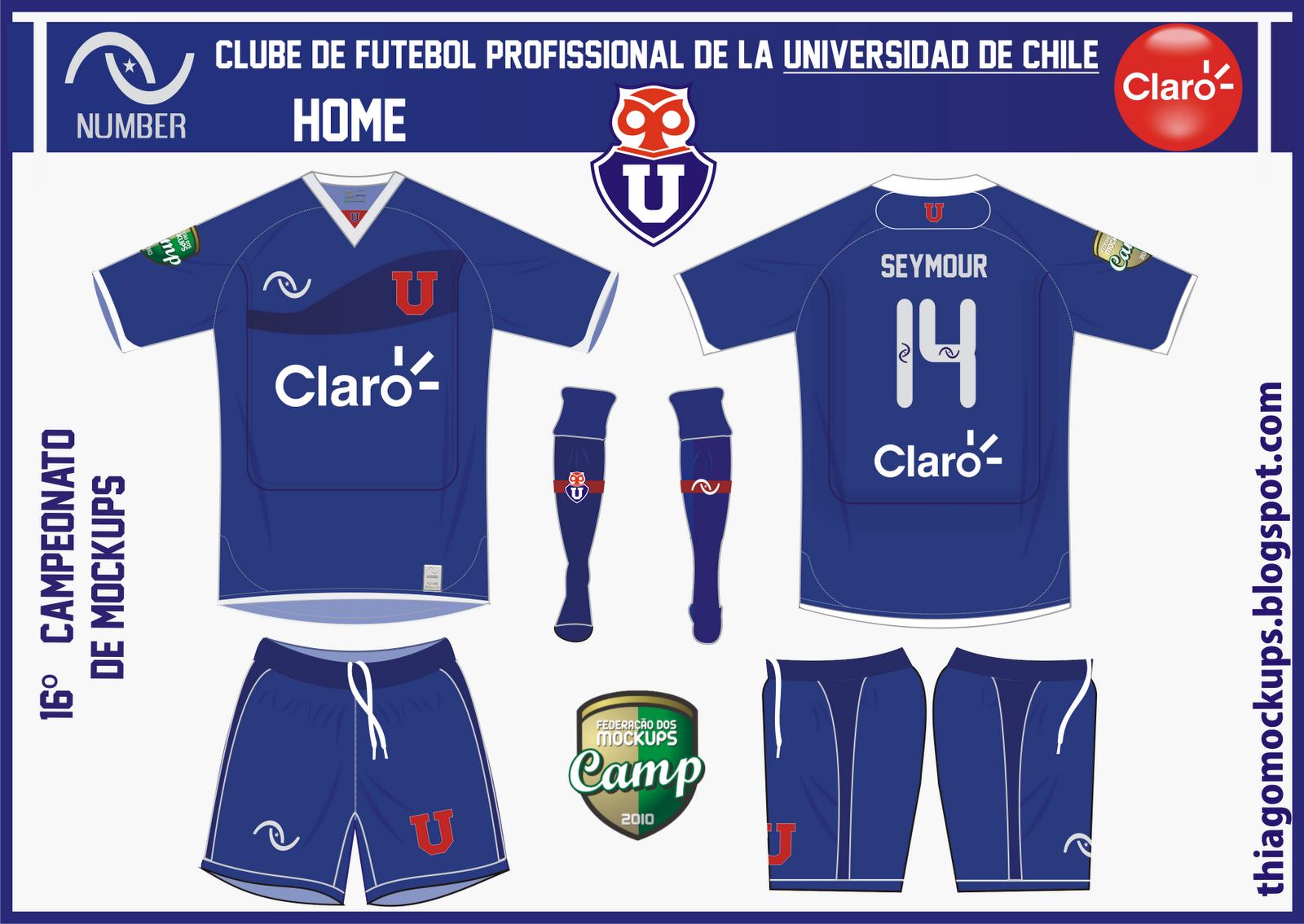 ... Mockups: 16º Campeonato de Mockups - Universidad de Chile / Number