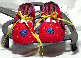 Guiding Stars Nautical Inspired Baby Booties