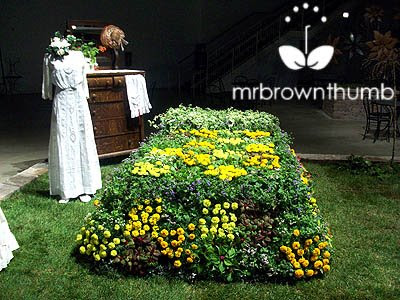 Victorian Garden, Chicago Flower &amp; Garden Show, topiary bed