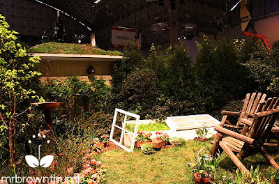 cold frame in garden Chicago Flower & garden show
