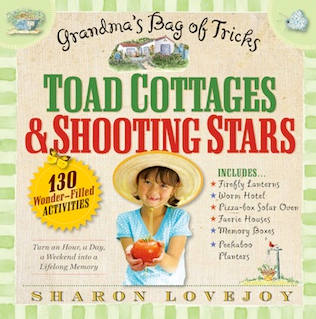 Toad Cottages & Shooting Stars gardening activities book