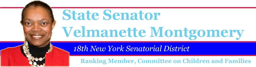 Senator Velmanette Montgomery--Working for Central Brooklyn!