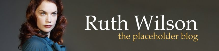 Ruth Wilson - the placeholder blog