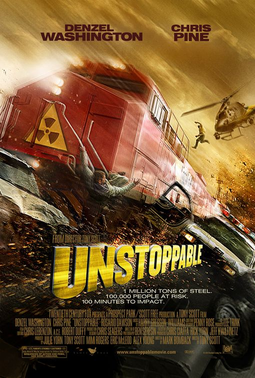 Yet a new movie poster of Unstoppable: Unstoppable Trailer