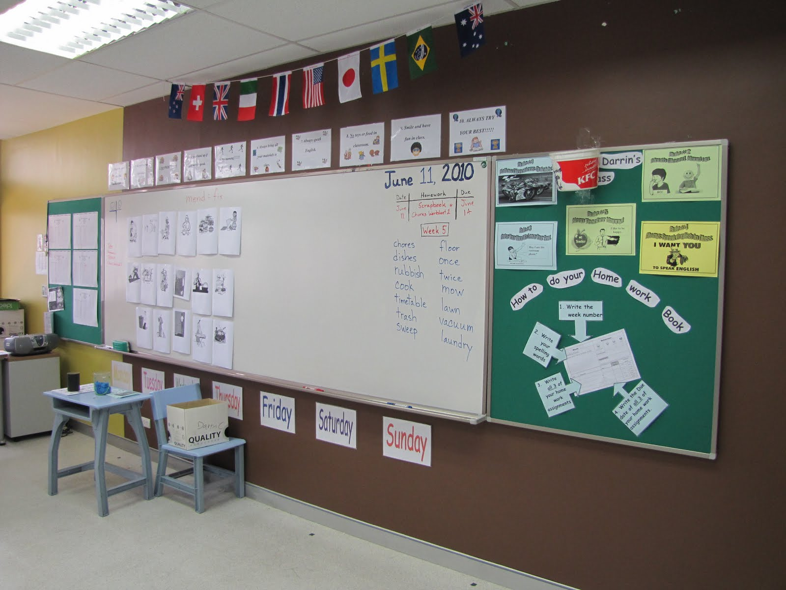 Free Classroom Decoration Resources : Bangkok christian college intensive english program