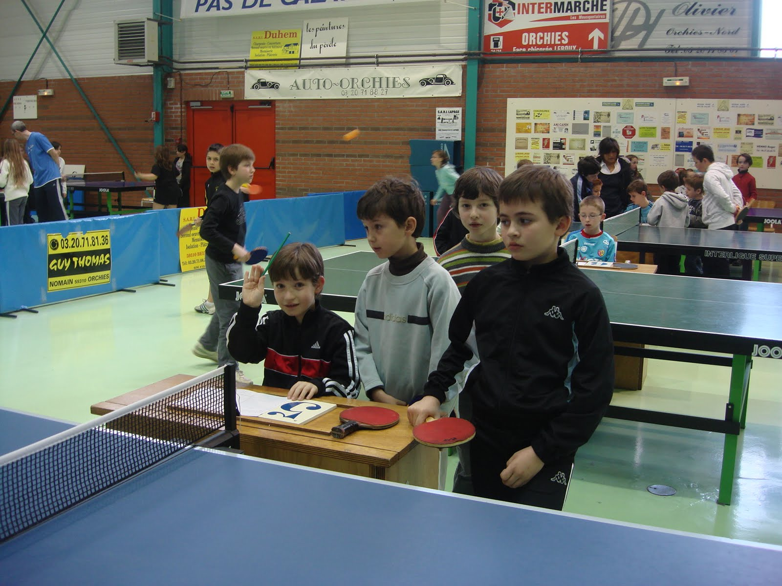 Rencontre tennis usep