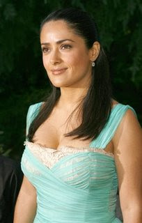 Beautiful, colorful, pictures and screen savers of Salma Hayek