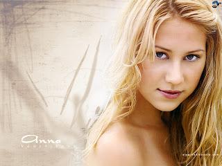 Tennis Star Anna Kournikova