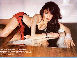 Model, pop singer Lindsay Lohan wallpapers